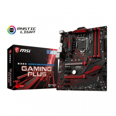 Mainboard Msi B360 Gaming Plus