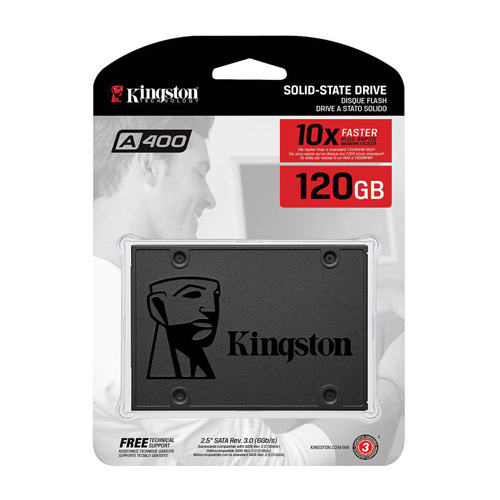 SSD KINGSTON 120GB 2.5'' SA400S37