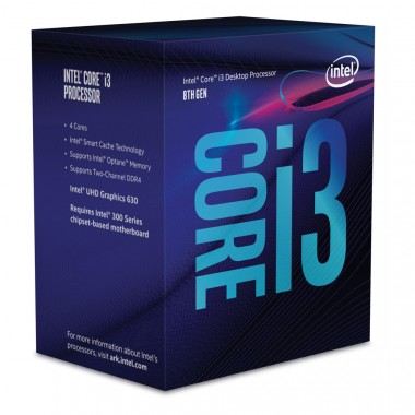 CPU CORE I3-8100 ( 3.6GHZ ) BOX