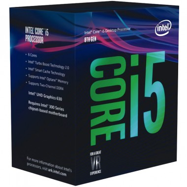CPU CORE I5-8600 ( 3.1GHZ )  BOX