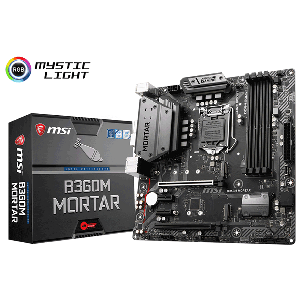 MAINBOARD MSI B360 MORTAR