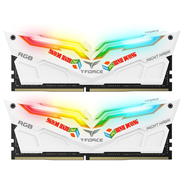 RAM TEAM DDR4 NIGHT HAWK 16GB/3000 (8GBX2) LED RGB