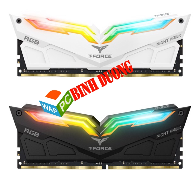 RAM TEAM DDR4 NIGHT HAWK 16GB/3200 (8GBX2) LED RGB