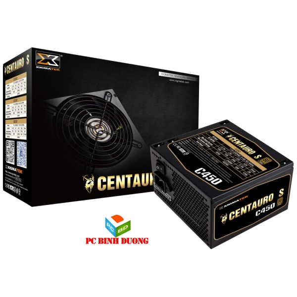 NGUON XIGMATEK CENTAURO C450 (EN40650) - 80PLUS BRONZE - ACTIVE PFC