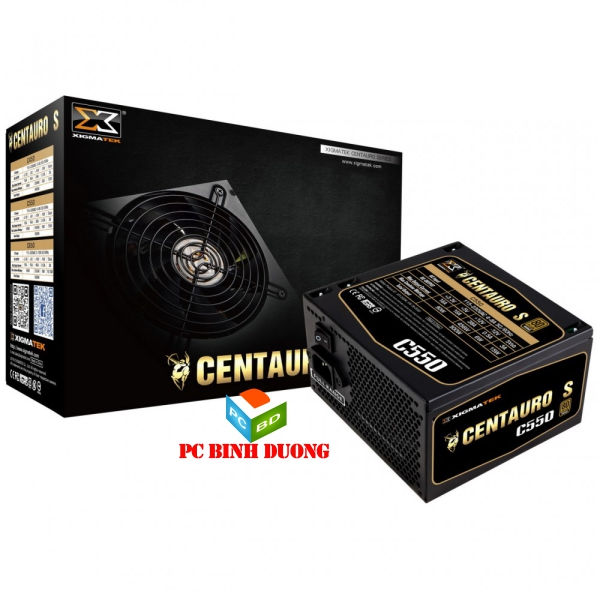 NGUON XIGMATEK CENTAURO C550 (EN40667) - 80PLUS BRONZE - ACTIVE PFC