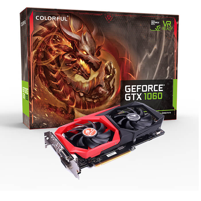 CARD VGA COLOFUL GTX1060 NB 3GB