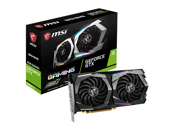 CARD VGA MSI GTX 1660Ti GAMING - 6G  ( BH 36T )