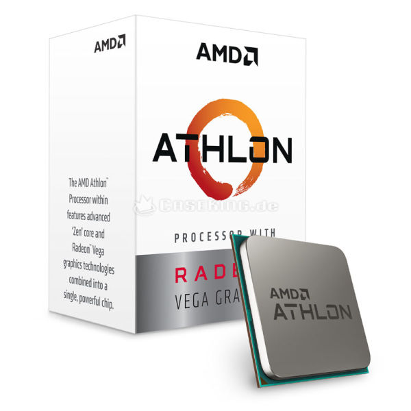 CPU AMD ATHLON 200GE ( 3.2GHZ ) SOKET AM4