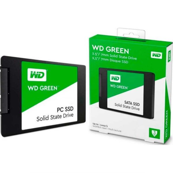 SSD WD 480GB WDS480G2G0A ( GREEN )