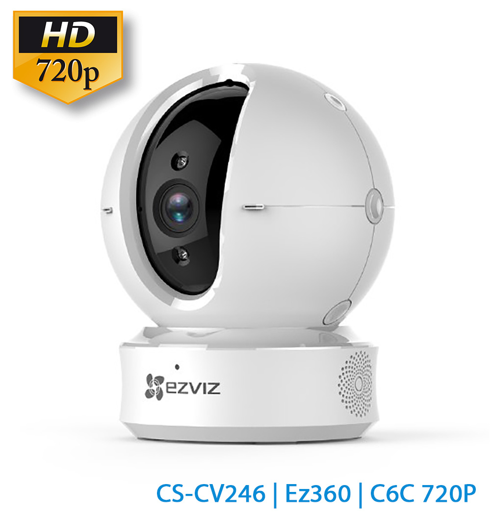 CAMERA WIFI EZVIZ CS-CV246 HD 720 ( 1MB XOAY 360 ĐỘ )