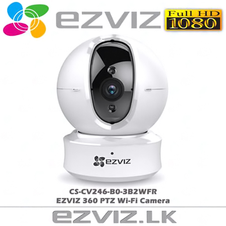 CAMERA WIFI EZVIZ CS-CV246 FULL HD 1080 ( 2MB XOAY 360 ĐỘ )
