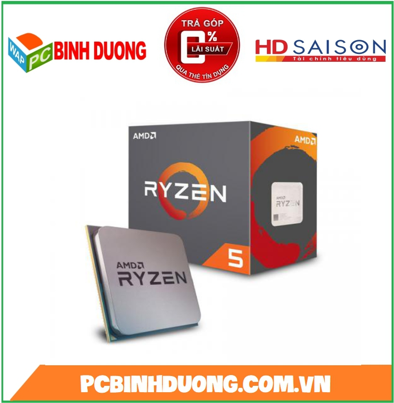 CPU AMD RYZEN 5-3400G ( 3.7GHz TURBO 4.2Hz ) SOKET AM4