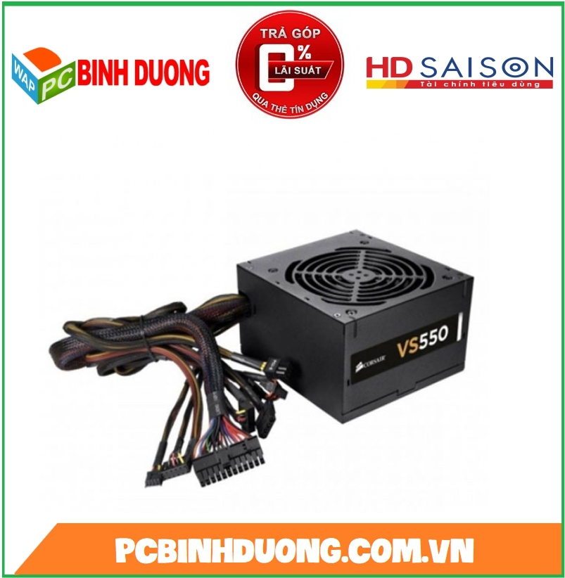 NGUON CORSAIR VS550 550W 80 PLUS WHITE