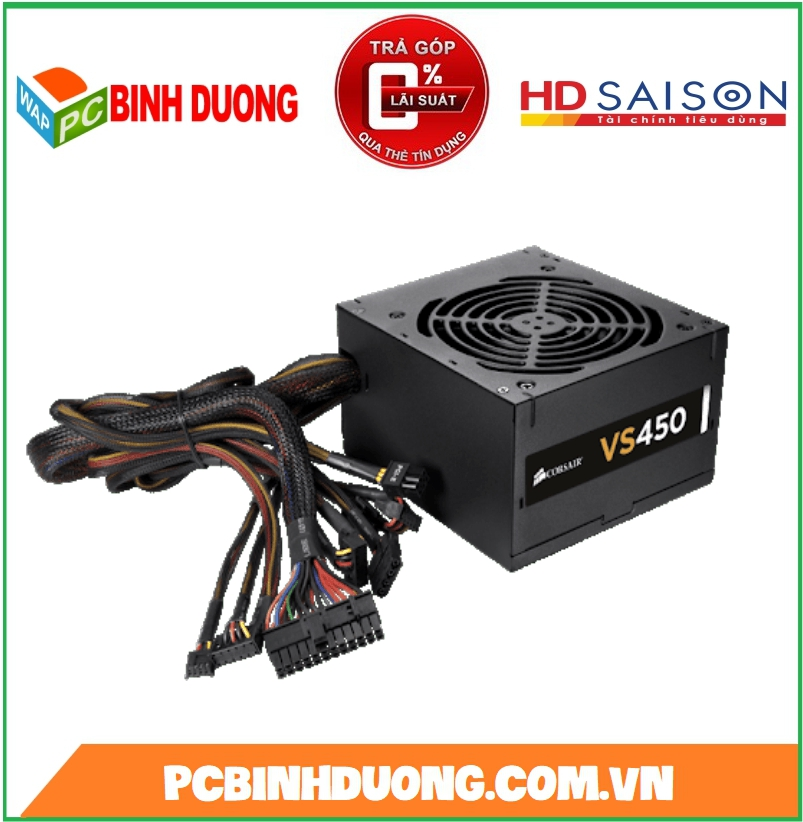 NGUON CORSAIR VS450 450W 80 PLUS WHITE