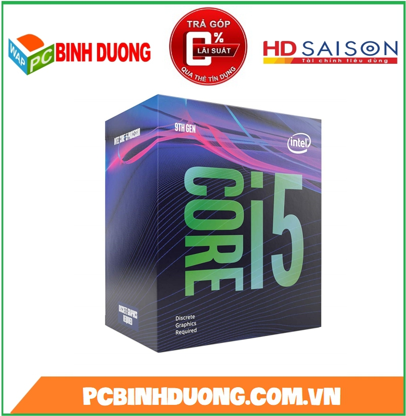 CPU CORE I5-9400 ( 2.9GHZ TURBO 4.1GHZ ) BOX ( CÓ GPU )