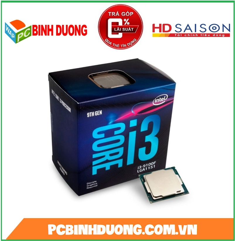 CPU CORE I3-9100F ( 3.6GHz TURBO 4.2GHz ) ( KO GPU )