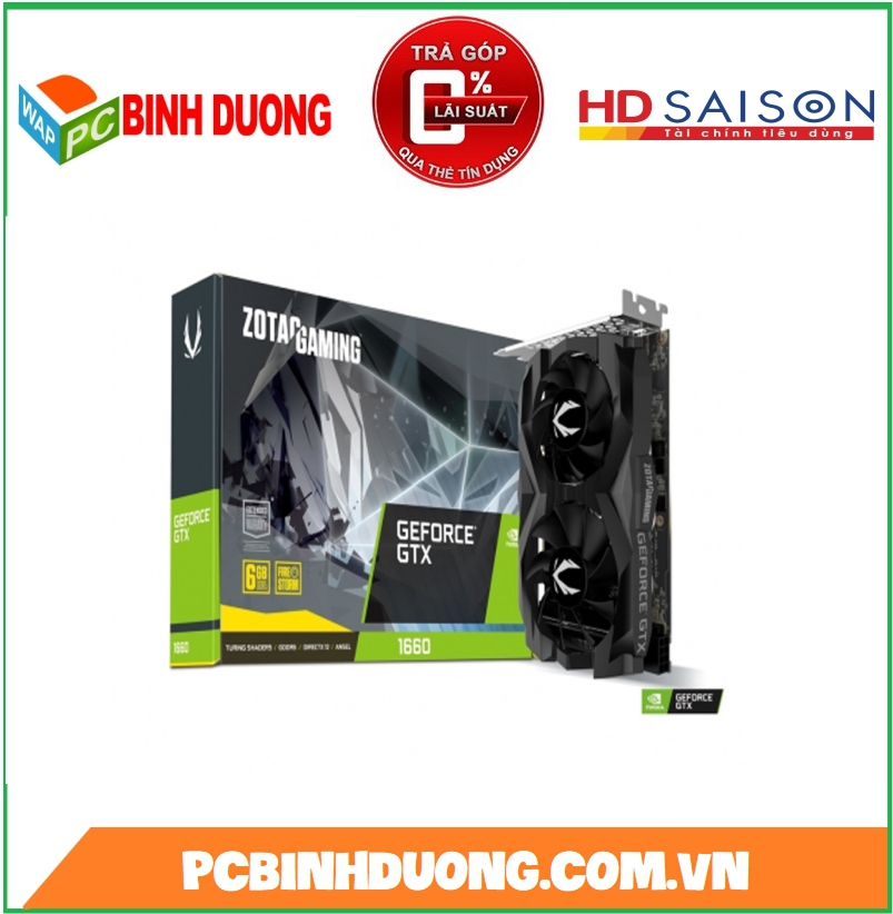 CARD VGA ZOTAC GTX1660 TWIN 6GB/DDR5/192BIT