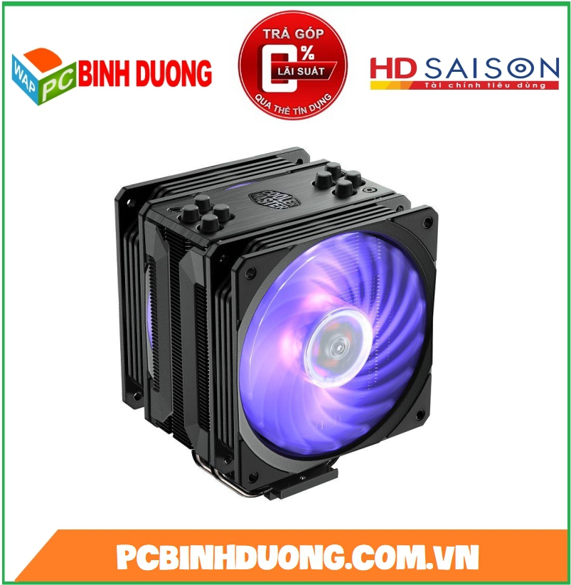 TẢN NHIỆT CPU COOLER MASTER HYPER 212 LED RGB BLACK EDITION
