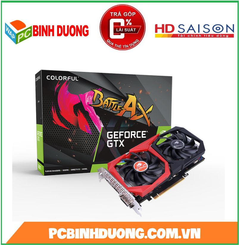 Card màn hình Colorful GeForce GTX 1660Ti NB 6G-V 6GB GDDR6