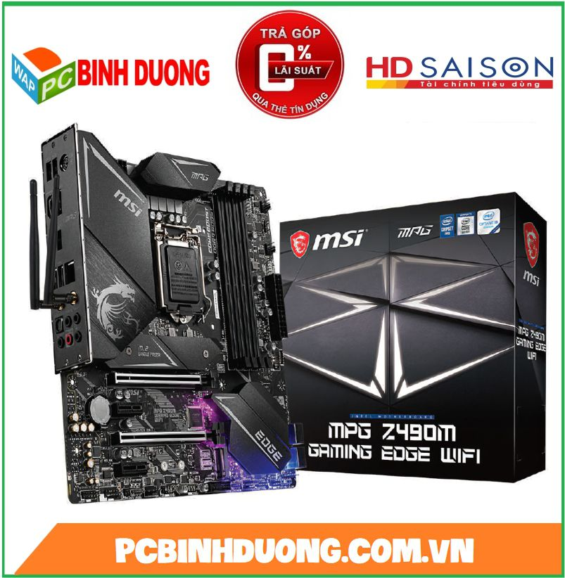 Mainboard MSI MPG Z490M GAMING EDGE WIFI