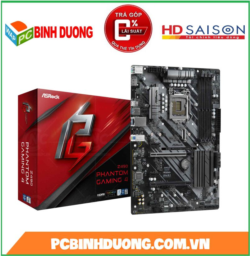 Mainboard Asrock Z490 Phantom Gaming 4