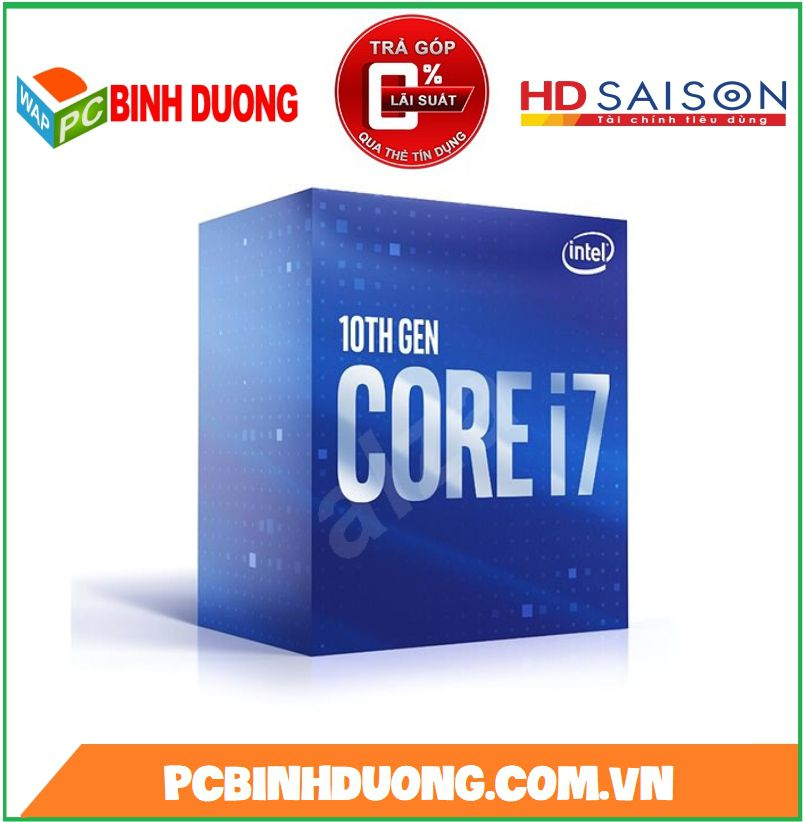 CPU CORE I7-10700 ( 2.9GHZ TURBO 4.8GHZ )