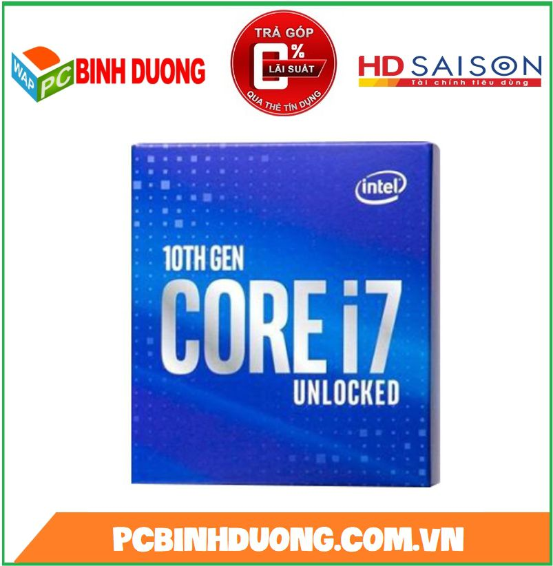 CPU CORE I7-10700K ( 3.8GHZ TURBO 5.1GHZ )