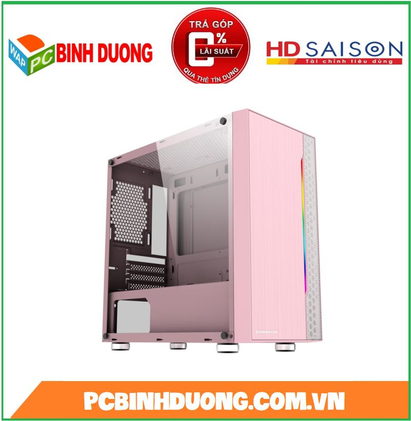 Case Xigmatek Gemini Queen (EN43835) Pink Led RGB