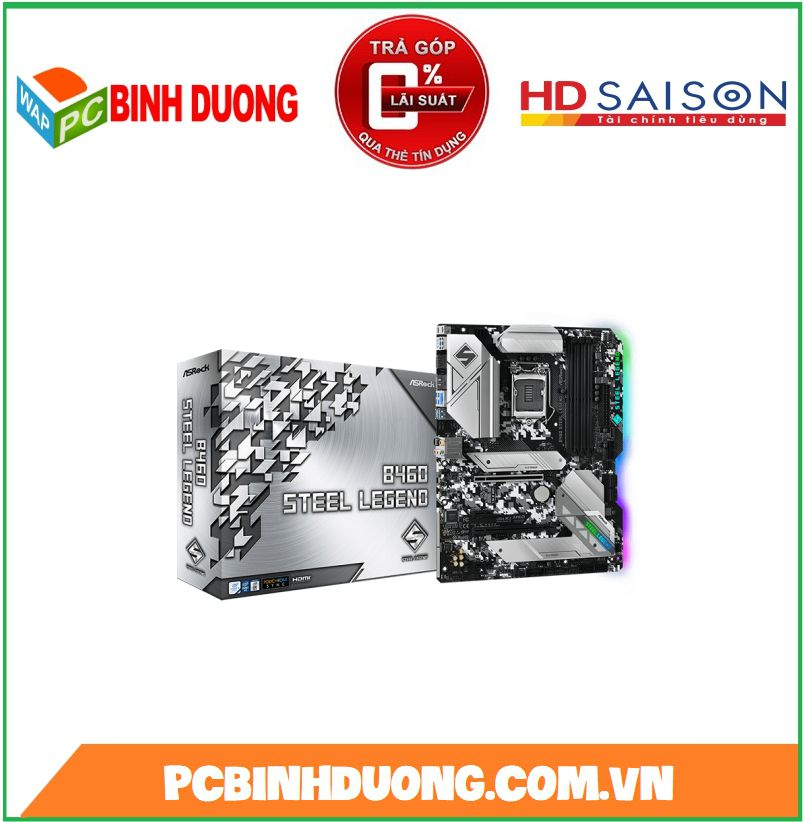 Mainboard ASROCK B460 STEEL LEGEND ( ATX )