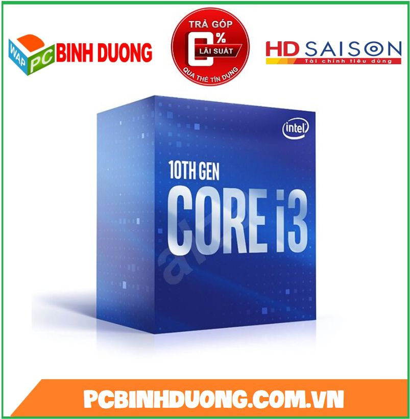 CPU Intel Core i3 10100 (3.6GHz turbo 4.3GHz)