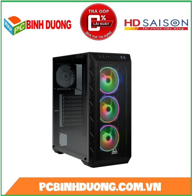 Case Montech Air 900 Mesh Black