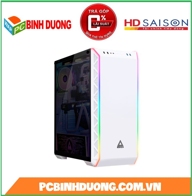 Case Montech Air 900 ARGB White