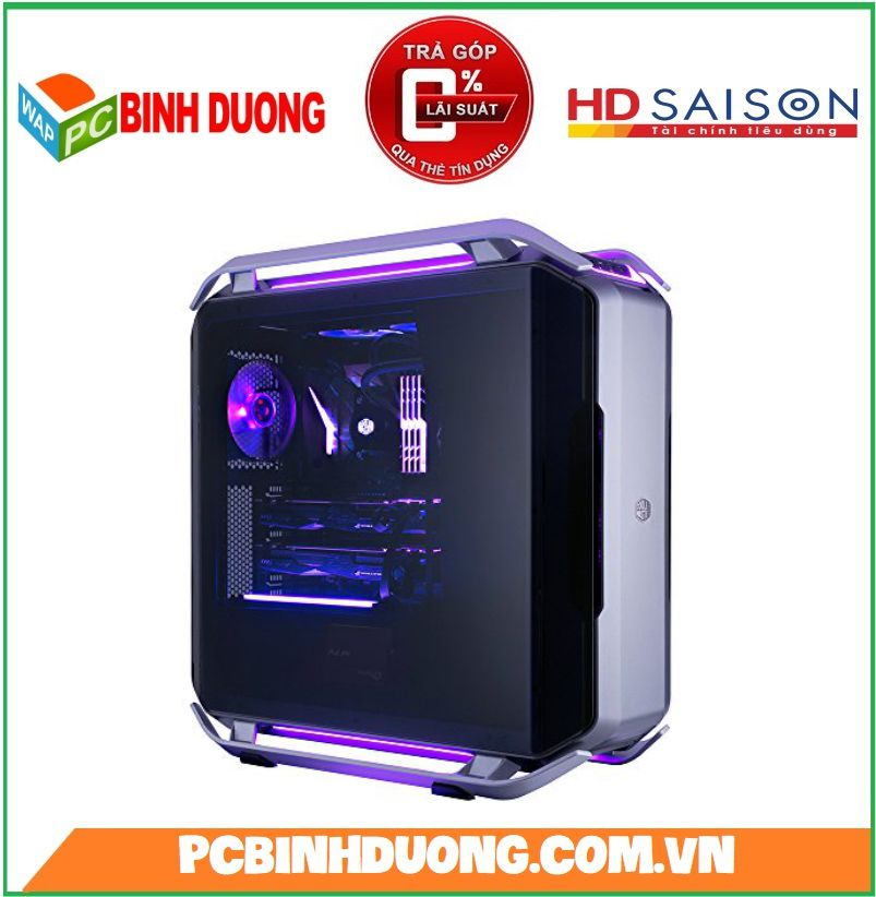 Vỏ Case Cooler Master Cosmos C700P Black Edition Full Tower