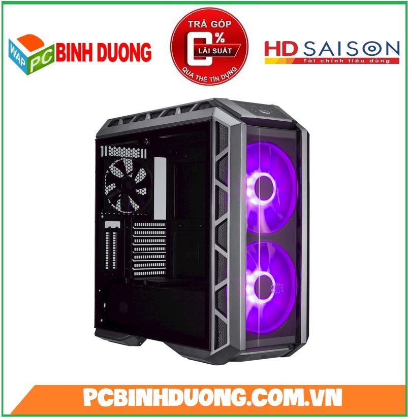 Vỏ Case Cooler Master MasterCase H500P Black Mid Tower