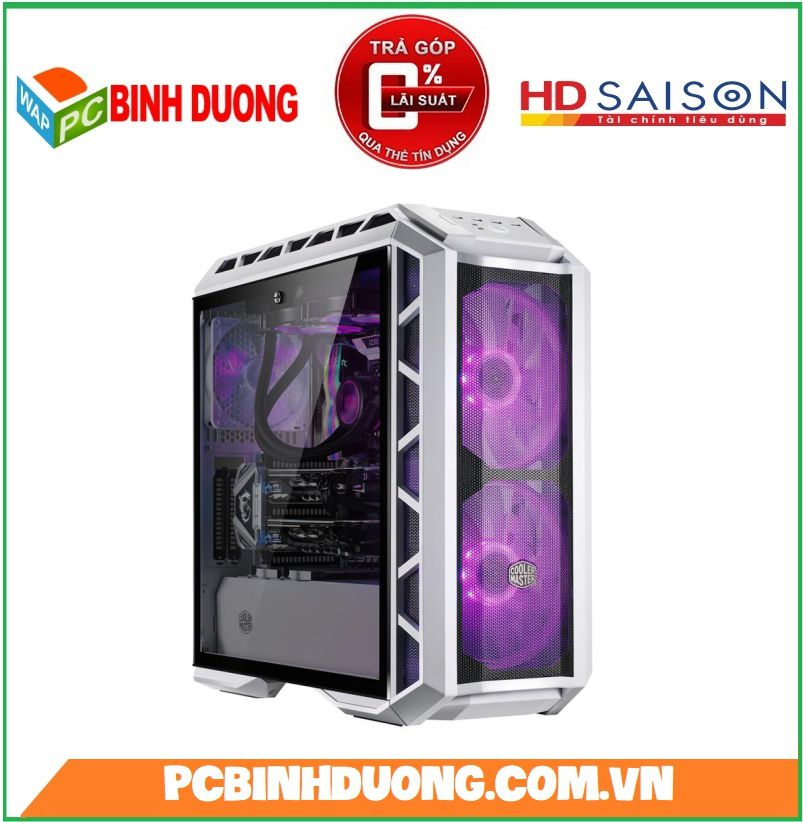 Vỏ Case Cooler Master MasterCase H500P White Mid Tower