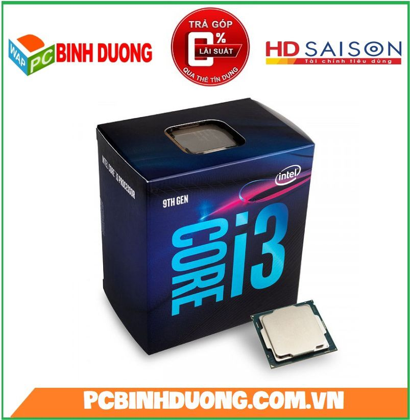 CPU CORE I3-9100 ( 3.6GHz TURBO 4.2GHz )