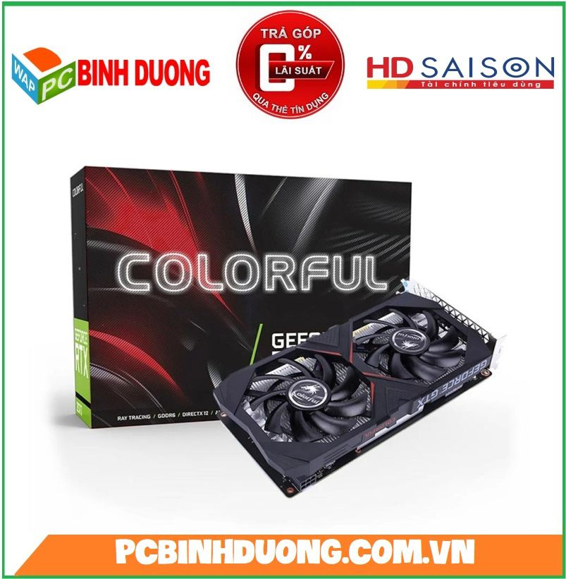 Card Màn Hình Coolorful GTX 1650 4Gb/DDR5/128Bit BA5V