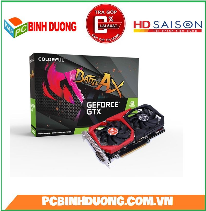 Card VGA Colorful GTX 1650 4Gb/DDR6/128Bit EX 4GD6-V