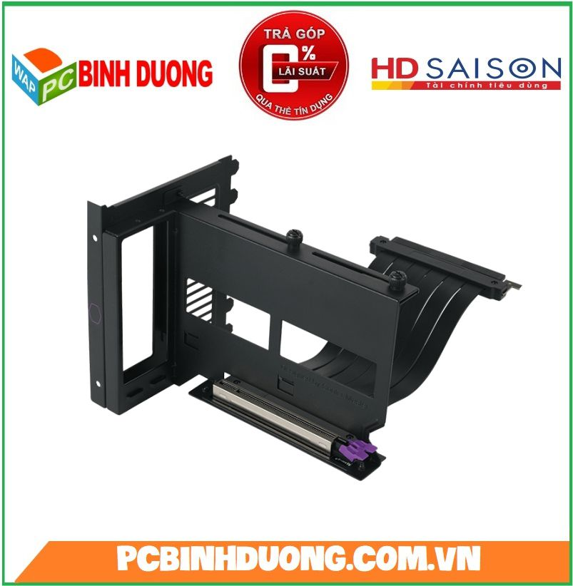 Giá dựng VGA Ngang Cooler Master Riser PCI-E 3.0 Holder Kit  V2