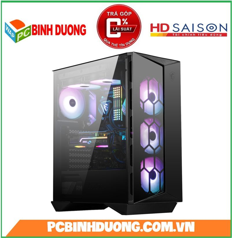 Vỏ Case MSI Gungnir 110R Mid Tower ( Tặng 4 Fan ARGB )