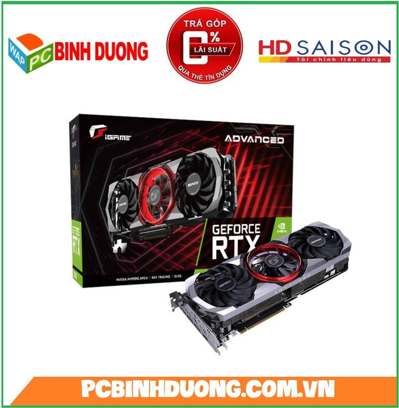 Card màn hình Clorful RTX 3060TI Advanced OC 8G