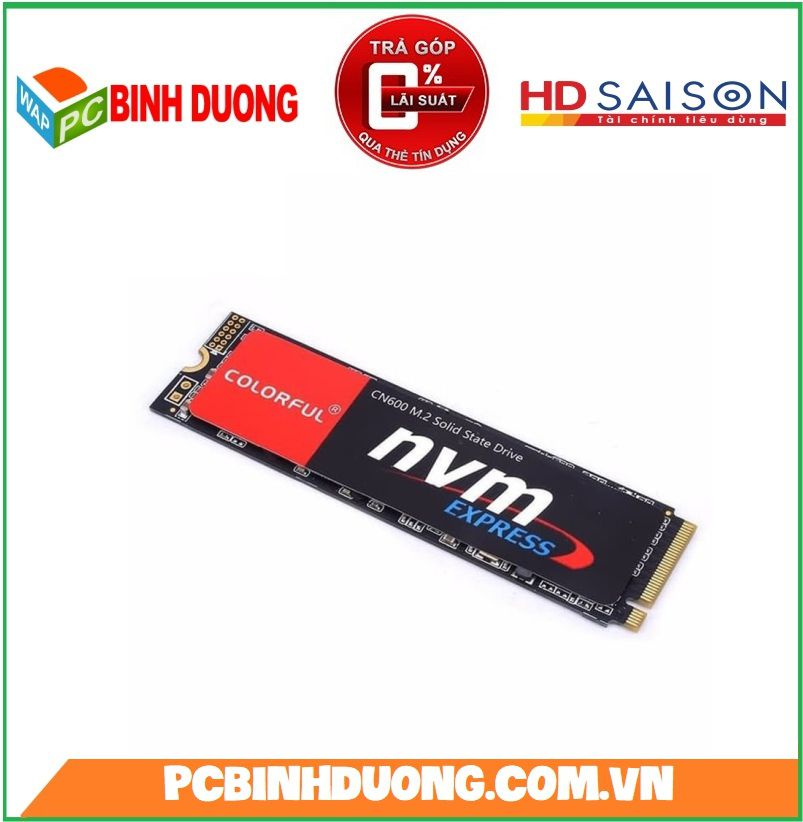 Ổ Cứng SSD Colorful CN600 256Gb M2 Sata 2280 NVMe PCIe