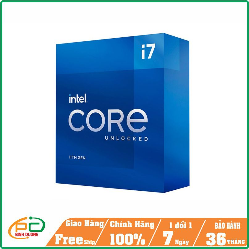 CPU Intel Core I7-11700 (2.5GHz turbo 4.9GHz)